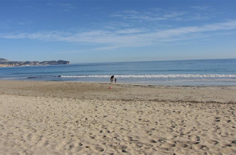 One of the beaches in the close neighbourhood