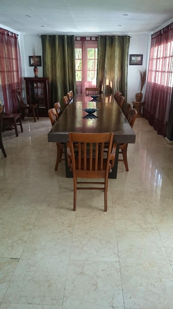 large dining tables comfortably all together